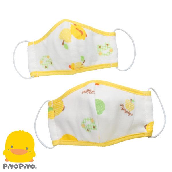黃色小鴨 幼兒紗布立體口罩(S/M)