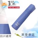 雨傘 陽傘 萊登傘 108克超輕傘 易攜 超輕三折傘 碳纖維 日式傘型 Leighton (粉紫)