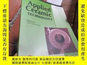 二手書博民逛書店applied罕見ceramic technology vol