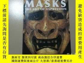 二手書博民逛書店MASKS罕見THEART OF EXPRESSION(表情面具