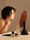 化妝鏡 MUID大圓鏡臺式帶燈智能高清梳妝鏡桌面補光led美妝化妝鏡子網紅 維多原創