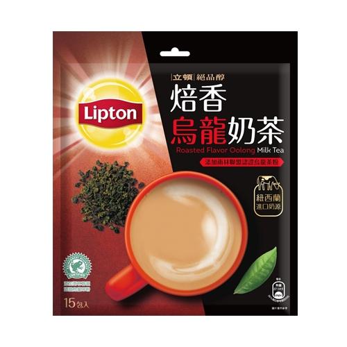 立頓絕品醇焙香烏龍奶茶19Gx15【愛買】