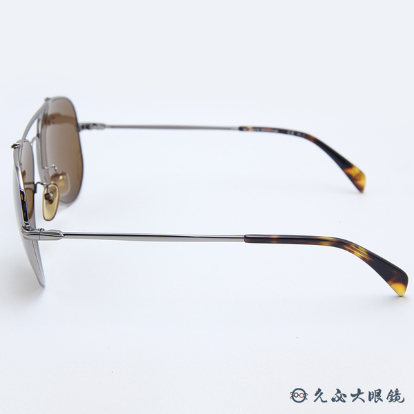 DB EYEWEAR 貝克漢設計品牌 DB1004S (鐵灰) 飛官款 太陽眼鏡 久必大眼鏡
