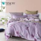 天絲 Tencel 珍妮芙 床包冬夏兩用被 加大四件組  100%雙面純天絲 伊尚厚生活美學