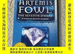 二手書博民逛書店Artemis罕見Fowl: The Seventh Dwarf