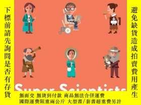 二手書博民逛書店Super罕見Scientists (40 Inspiring