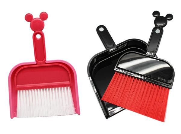 【卡漫城】 Mickey 造型 掃帚組 二款選一 ㊣版 米奇 小型 掃把 畚箕 掃具 米老鼠 輕巧 日版