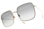 Dior 太陽眼鏡 STELLAIRE1 0001I (金-漸層灰鏡片) 歐美時尚率性百搭款 墨鏡 # 金橘眼鏡