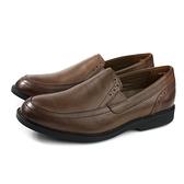 Hush Puppies 皮鞋 休閒鞋 牛皮 棕色 男鞋 M920217 no174