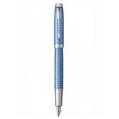 派克高尚高尚精典鈦藍格紋鋼筆