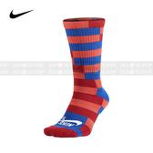 Nike SB Dri-FIT 中筒襪 SX4856-646 紅橘藍
