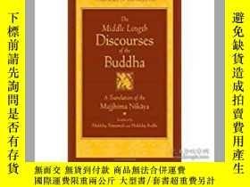 二手書博民逛書店The罕見middle length discourses of