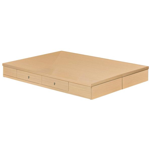 橡木雙人5尺抽屜床底(21SP/581-2)