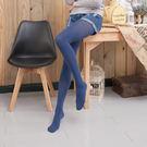 80D天鵝絨收腹提臀微壓啞光條紋褲襪絲襪...