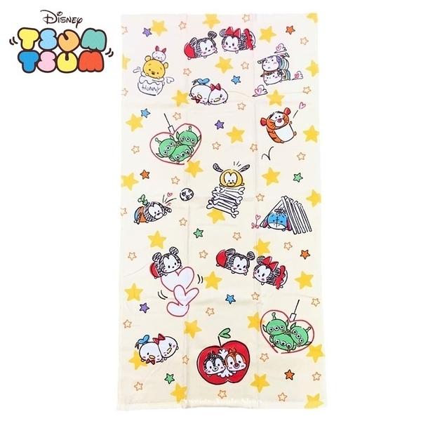 日本限定  迪士尼 茲姆茲姆 TSUM TSUM 米奇家族 星星滿版 浴巾 長版毛巾