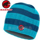 Mammut長毛象 1090-03070-5947水相藍 超輕快乾保暖編織帽 Passion Beanie毛線帽/登山滑雪遮耳帽/雪地毛帽