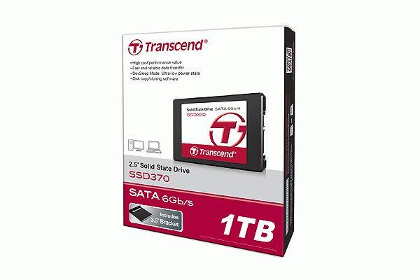 創見 370系列 512G 2.5吋固態硬碟