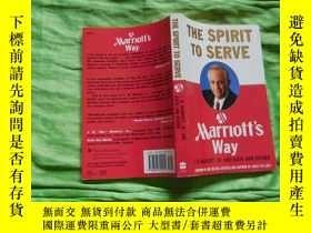 二手書博民逛書店THE罕見SPIRIT TO SERVE:Marriotts WayY8676 J.W.MARRIOTT,JR