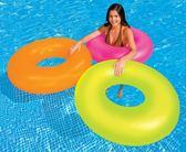 [衣林時尚]INTEX 91cm游泳圈 10歲以上 (顏色隨機出) 59262