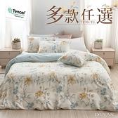 100%天絲-雙人床包被套四件組- 多款任選 萊賽爾天絲