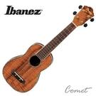 日本名牌 Ibanez UKS50 Koa 相思木鑲貝烏克麗麗 Soprano ukulele(21吋)/附Ibanez琴袋