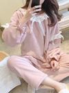 珊瑚絨睡衣女冬季韓版秋季甜美可愛公主風家居服法蘭絨加厚保暖