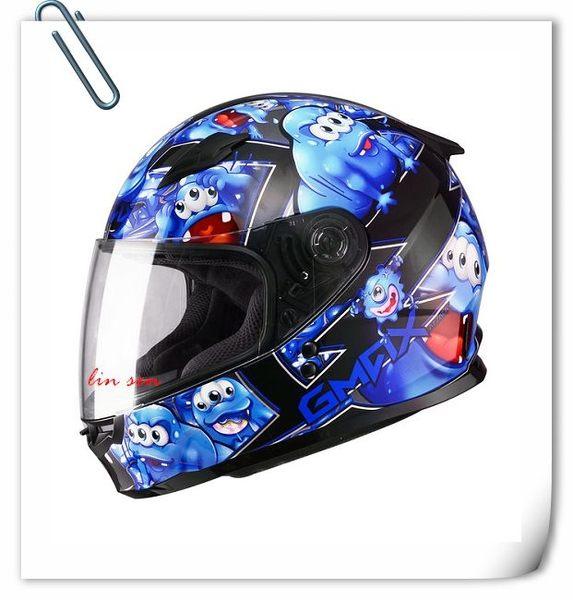 SOL安全帽,GMAX安全帽,49Y,精靈/黑藍