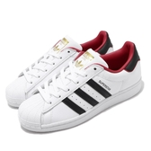 adidas 休閒鞋 Superstar Love 白 黑 紅 男鞋 女鞋 內側刺繡 三條線 情侶鞋 情人節 【PUMP306】 FW6384