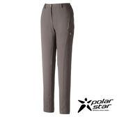 PolarStar 女 輕便多口袋長褲 釣魚褲│休閒褲│吸濕排汗褲│四向彈性3D立體剪裁『灰』P16418