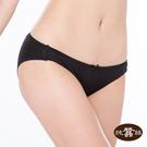 【岱妮蠶絲】FA0230N純蠶絲42針110G單蝴蝶結低腰三角內褲(黑)