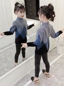 兒童毛衣女童毛衣加絨加厚2020新款兒童秋冬裝水貂絨洋氣套頭高領打底衫冬 新品