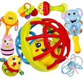 新生嬰兒玩具0-1歲牙膠搖鈴幼兒寶寶益智手鈴手搖鈴3-5-6-12個月【聖誕節鉅惠8折】