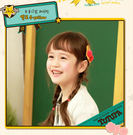[韓風童品]出口韓國TUTUYA兒童髮飾 女童劉海夾 邊夾 球型造型邊夾 對夾