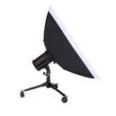 攝影小型地燈架 攝影棚閃光燈靜物台底座打光燈架帶滑輪折疊燈架【美物居家館】