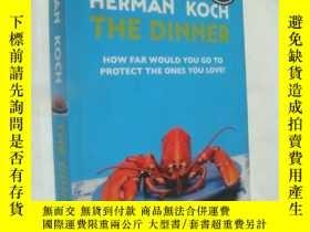 二手書博民逛書店THE罕見DINNER:How far would you go to protect the ones you