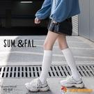 買1送1 2雙裝 小腿襪長筒襪子女日系jk中筒過膝半高筒及膝【公主日記】【小獅子】