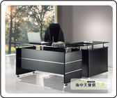 {{ 海中天休閒傢俱廣場 }} F-35 摩登時尚 商業OA 辦公桌系列 601-4 CP-2655 L型主管桌(全組)(不可拆賣)
