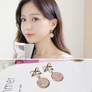 耳環女氣質韓國個性長款吊墜百搭蝴蝶結耳釘超仙耳墜耳飾品防過敏