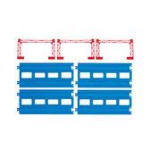 PLARAIL鐵路王國系列 火車配件 R-04複線直軌_TP15217