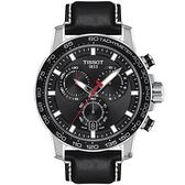 TISSOT天梭 Supersport 計時手錶-45.5mm T1256171605100