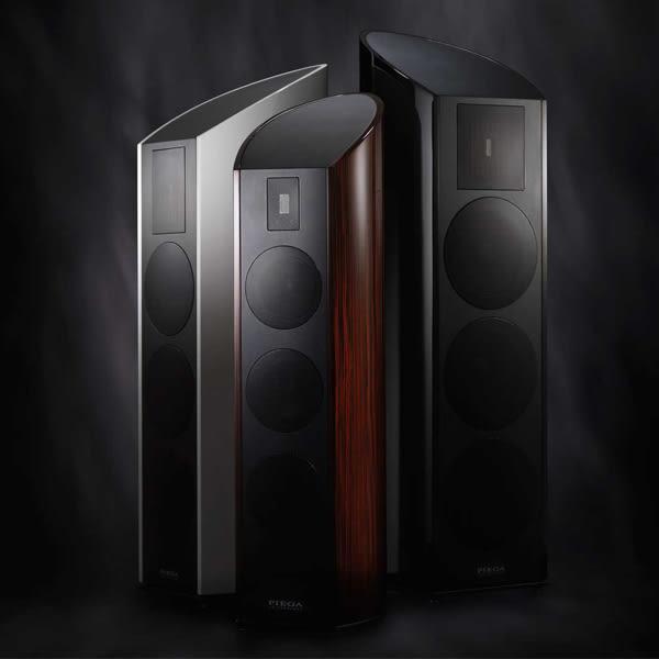 【竹北勝豐群音響】PIEGA  Classic 60.2   3音路落地型喇叭(black)