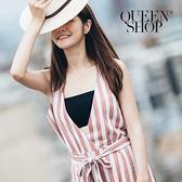 Queen Shop【01041539】素面平口後扣小可愛 兩色售*預購*