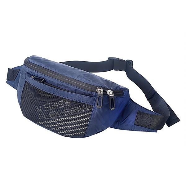 K-SWISS 運動腰包Fanny Waist Pack BG119426 藍