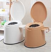 雙十二狂歡購可行動馬桶孕婦坐便器老人加厚痰盂便攜式家用舒適馬桶尿壺尿桶igo