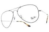 RayBan 光學眼鏡 RB6489 2970 (藍-銀) 經典飛官造型鏡框 # 金橘眼鏡