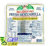 [COSCO代購] W2165366 Belgioioso 摩佐羅拉乾酪切片907公克 X 4包