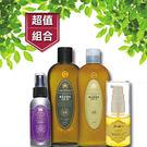 經典染髮後保養組合(鎖色洗髮精+鎖色潤髮乳+頭皮調理水-敏感頭皮適用+ 瞬間護髮素)