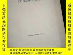 二手書博民逛書店proceedings罕見of the tenth conference on magnetism and mag