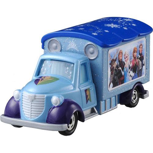 迪士尼小汽車 冰雪奇緣公主宣傳車_DS82290