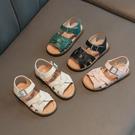 涼鞋 嚕迪龍兒童寶寶鞋女童涼鞋20夏季新款時尚小中童1-6歲公主沙灘鞋